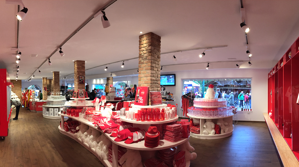 Coca-Cola Giftshop – Europa-Park, Germany