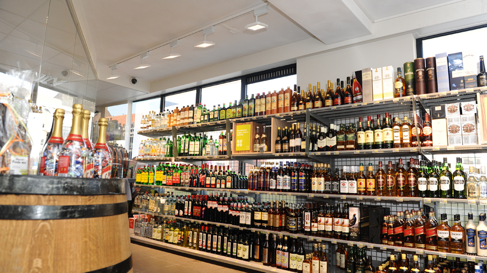 Plus liquor store, The Netherlands