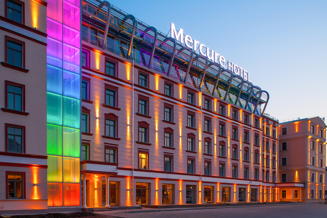 Facade Lighting Cls Leds Light Up Your World
