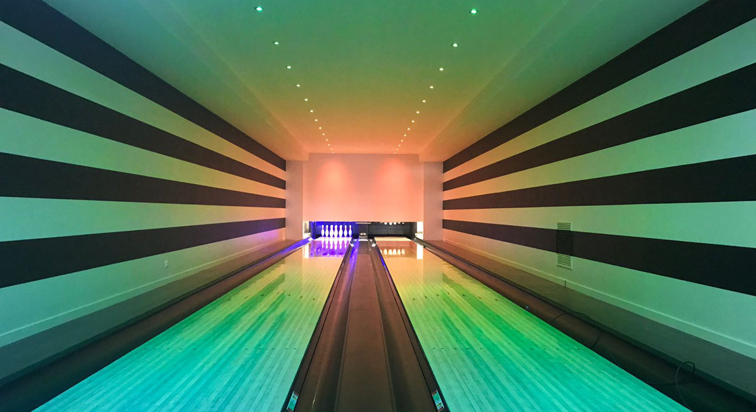 Private bowling, France